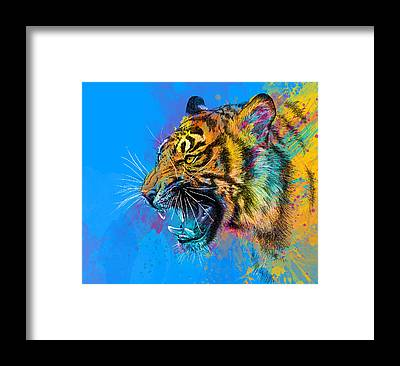 Vibrant Framed Prints