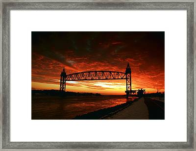 Crazy Train Framed Print by Matthew Grice