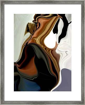 Creamy Framed Print by HollyWood Creation By linda zanini