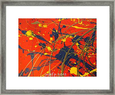 Creating Life Part One Framed Print by Sir Josef - Social Critic - ART