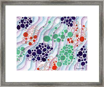 Creating New Memories Framed Print by Lesa Weller