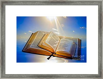 Creation Concept Framed Print by Colin and Linda McKie