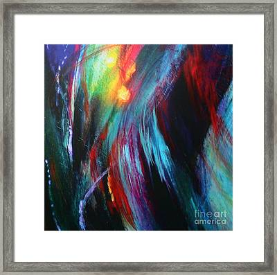 Framed Print featuring the painting Creation by Jeanette French