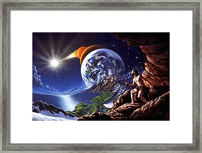Creation Framed Print by Jerry LoFaro