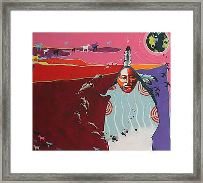 Creation Framed Print by Joe  Triano