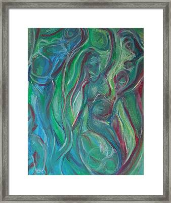 Creation Framed Print by Made by Marley