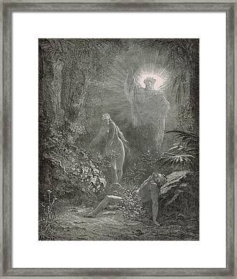 Creation Of Eve Framed Print