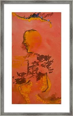 Creation Of The Mortal Angel Framed Print