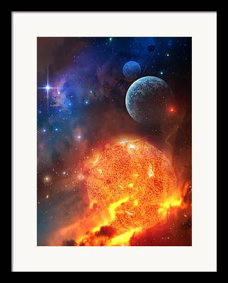 Star Clusters Framed Prints