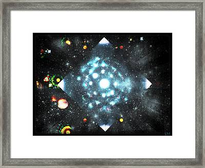 Creation Framed Print by Sherry Flaker