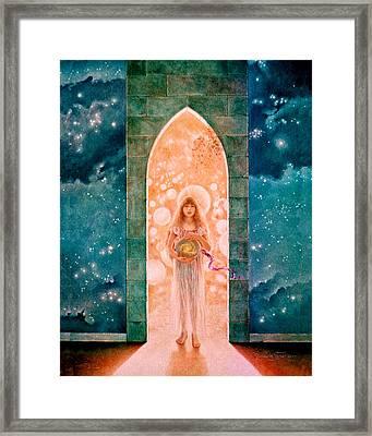 Creationess Framed Print