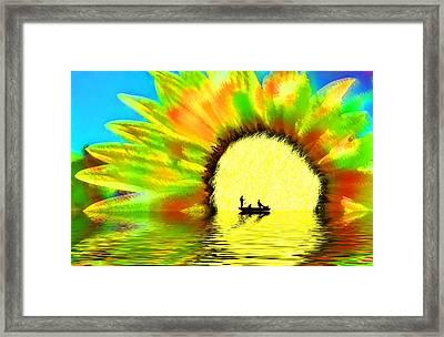 Creative Boating Framed Print by Glenn McGloughlin