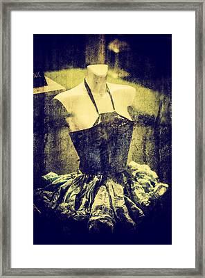 Creative Dress Framed Print by Georgina Noronha