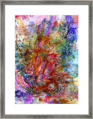 Creative Energy Framed Print