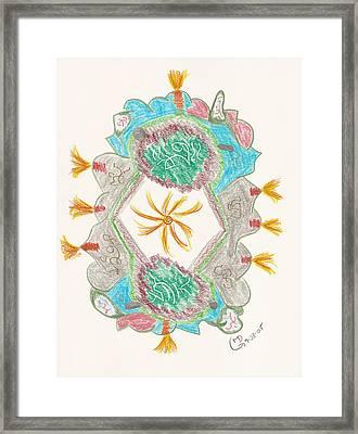 Creative Fire Framed Print