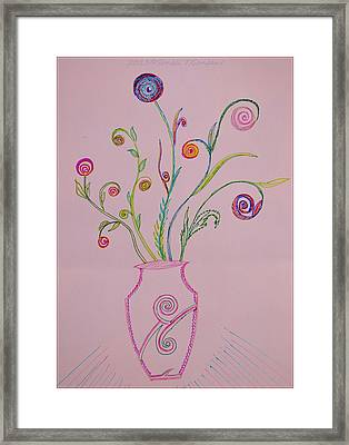 Creative Spheres Framed Print