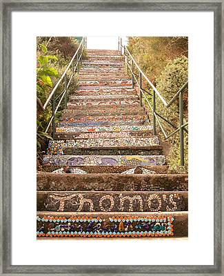 Creative Steps Framed Print