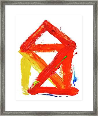 Creative Therapy Framed Print by Smetek