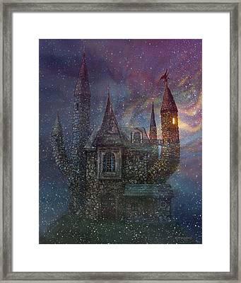 Creativity Castle Framed Print by Frank Robert Dixon