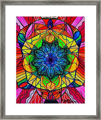Creativity Framed Print by Teal Eye  Print Store