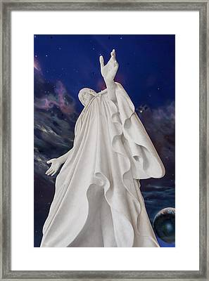Creator Of Heaven And Earth Framed Print by Greg Collins