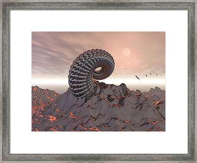 Creature Of The Mountain Framed Print by Phil Perkins