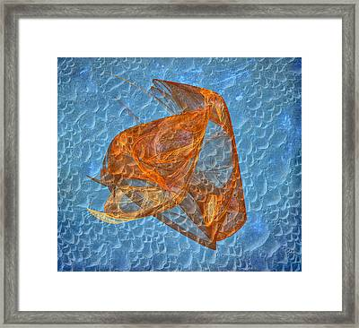 Creatures Under The Sea Framed Print by Angela A Stanton