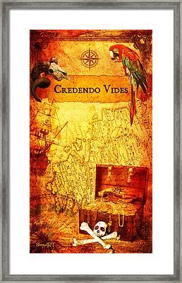 Credendo Vides Framed Print by Donika Nikova