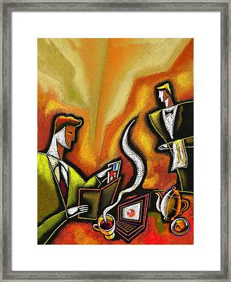 Credit Card Framed Print by Leon Zernitsky