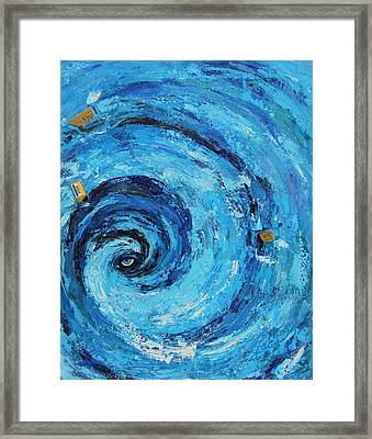 Credit Cards Suck Framed Print by Susi LaForsch