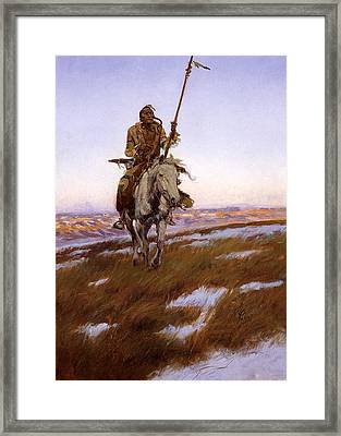 Cree Indian Framed Print