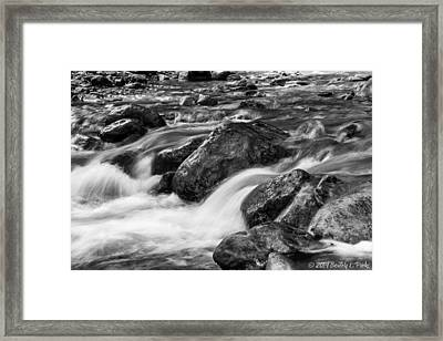 Framed Print featuring the photograph Creek by Beverly Parks