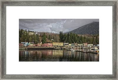 Creek Street V11414 Framed Print