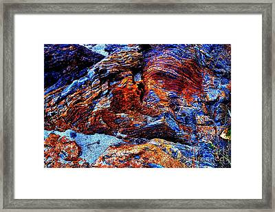 Creekside Mural Framed Print