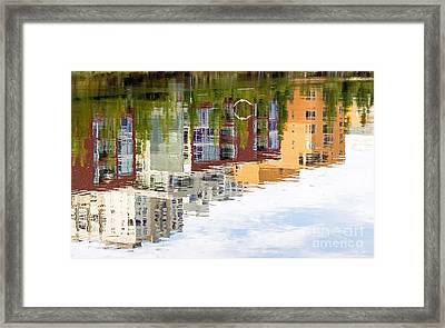 Creekside Reflections Framed Print
