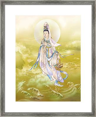 Framed Print featuring the photograph Creel Kuan Yin by Lanjee Chee