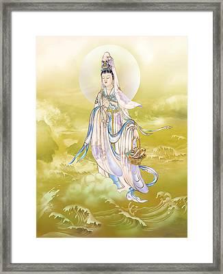 Creel Kuan Yin Framed Print by Lanjee Chee