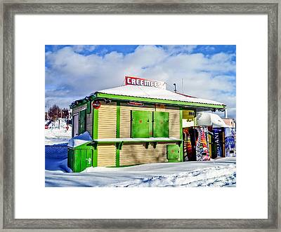 Creemees Framed Print by Edward Fielding