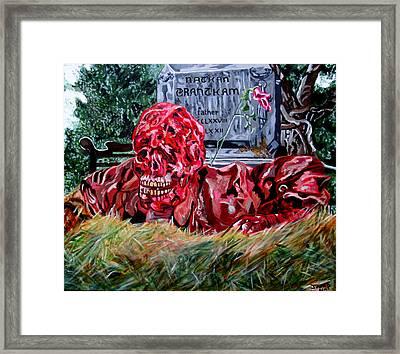 Creepshow Framed Print