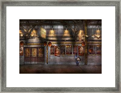 Creepy - Apocalyptic - Obedience And Compliance Framed Print by Mike Savad