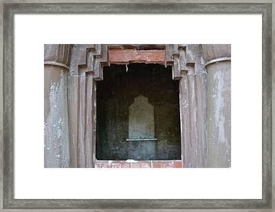 Creepy Crypt Framed Print by Patricia Greer