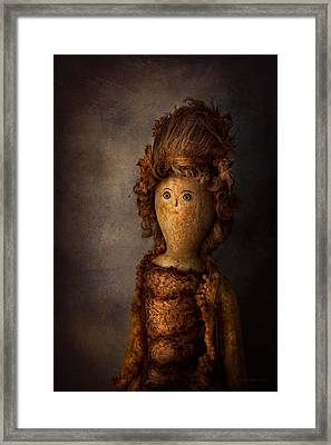 Creepy - Doll - Matilda Framed Print