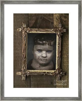 Creepy Relative Framed Print by Edward Fielding