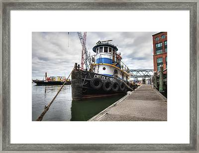 Creole Miss Framed Print by Eric Gendron