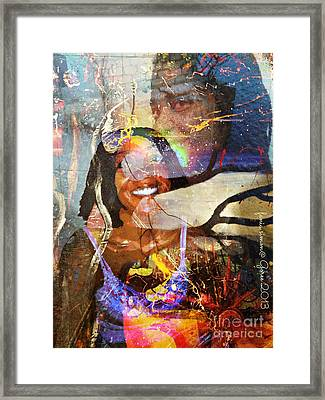 Creolization - Descendants Surviving Tribalism Framed Print by Fania Simon