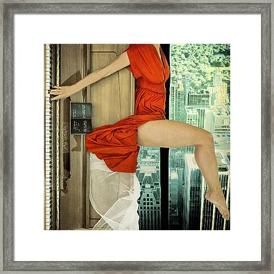 Crescendo Framed Print by Ambra