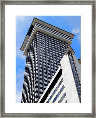 New Orleans Crescent City Towers #2 Framed Print