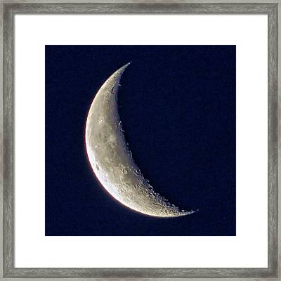Crescent Moon 2 Framed Print