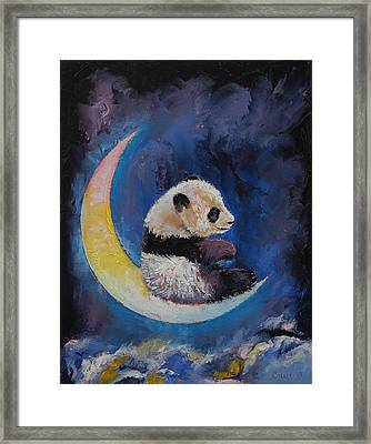 Crescent Moon Framed Print by Michael Creese