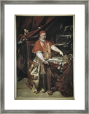 Crespi, Giuseppe Maria 1665-1747 Framed Print